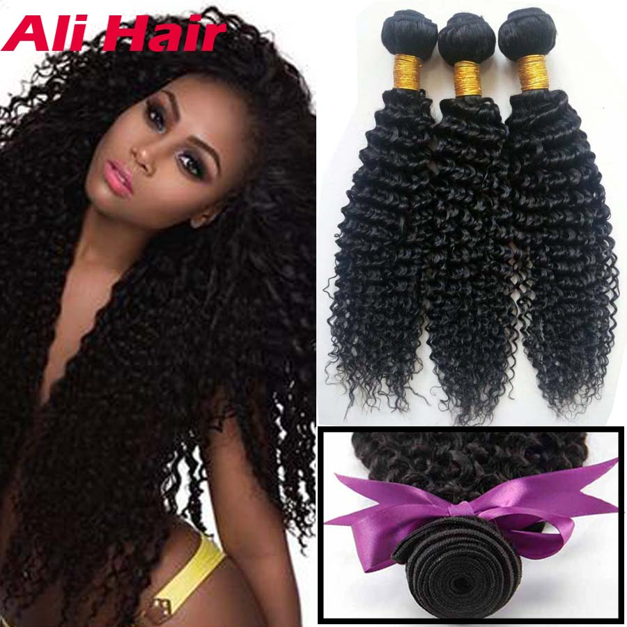 Mongolian Kinky Curly Virgin Hair 4pcs Lot  Grade 8 Curly Weave Human Hair For Crochet Monglian 1b 24 Inch Curly Hair Extensions<br><br>Aliexpress