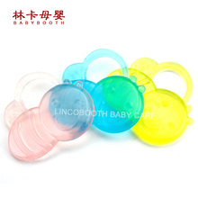 Food Grade Cartoon Shape Baby Eva Teether With Water Filled Meeting Fda Test(China)
