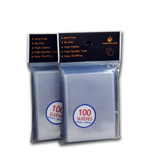 NEW 100 PCS/Bag TW Card Game Sleeve 61*92mm Card Protector Thicken Board Game Sleeve Free Shipping(China)