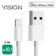 YISION Cable For iPhone Apple MFi Certified For iphone 7 5 5S 6s Plus iPad Air For 8 pin USB Data Charger Cable Line IOS  10