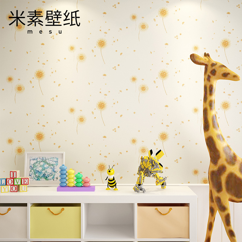 2017 Hot Sale Papel Pintado Wall Paper Papel De Parede M In Children Room Girl Bedroom Non-woven Pastoral Princess Aromatherapy <br>