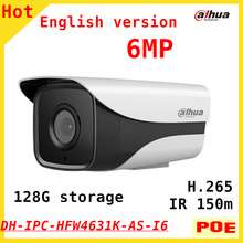 Buy English version Dahua new 6MP IP Camera IPC-HFW4631K-AS-I6 H.265 IR distance 150m Support POE 128G SD Card Outdoor IP67 for $87.39 in AliExpress store