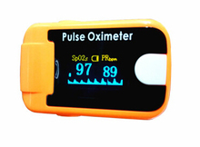 Medical clip oximeter oxygen heart rate meter heartbeat table