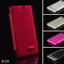 Fashion PU Leather Case For Huawei Ascend G6 P6 Mini Slim Card Holders Wallet Case With Stand Flip Cell Phones Case