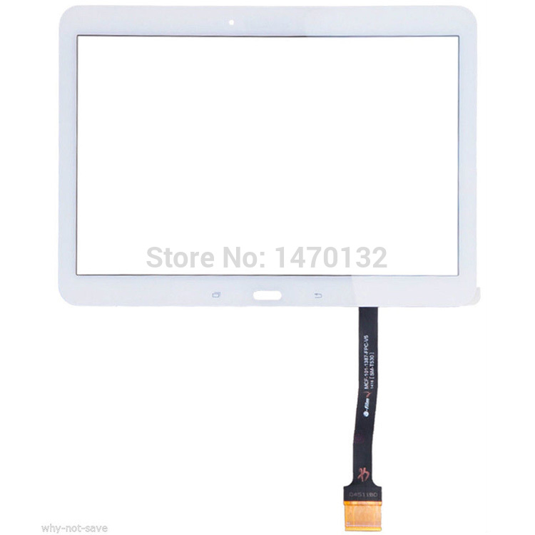White Part Front Outer Glass For Samsung Galaxy Tab 4 10.1 SM-T530 T531 Touch Screen Digitizer<br><br>Aliexpress