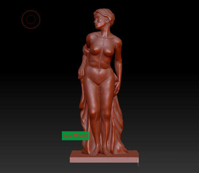 New model 3D model for cnc or 3D printers in STL file format bathers<br><br>Aliexpress