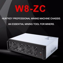Buy W8-ZC Professional Mine Mining Machine Chassis 8 Graphics Server Chassis 7 Fans Mining Case Frame Single Power Supply for $335.00 in AliExpress store