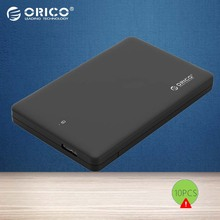 ORICO USB 3.0 to SATA3.0 2.5 inch HDD Case External Hard Drive Enclosure for 7mm/ 9.5mm 2.5 inch HDD SSD up to 2TB UASP Support(China)