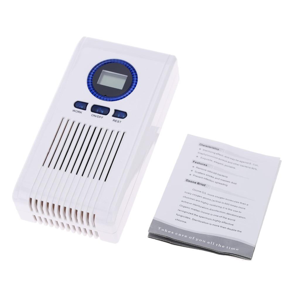 Ozonizador Ozone Air Purifier Home Office Germicidal Electric Oxygen Concentrator Filter Cleaner Deodorizer EU Plug 110-240v <br>
