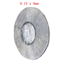 1kg 0.15 x 8mm Nickel Plated Steel Strap Strip Sheets for Battery Spot Welding Machine Welder Equipment