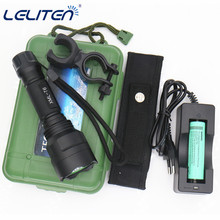 3800lm led flashlight XML-T6 Waterproof mini Portable Torch Bike light lamp lighting Lantern 18650 Battery Charger clip+bag(China)