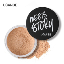 UCANBE Brand 5 Color Mineral Setting Loose Powder Makeup Brighten Oil Control Concealer Translucent Long Lasting Cosmetic Powder(China)
