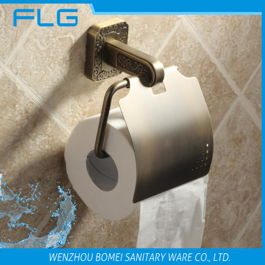 FLG 9999  Antique Brass Artistic Style Carving Toilet Paper Holder<br><br>Aliexpress