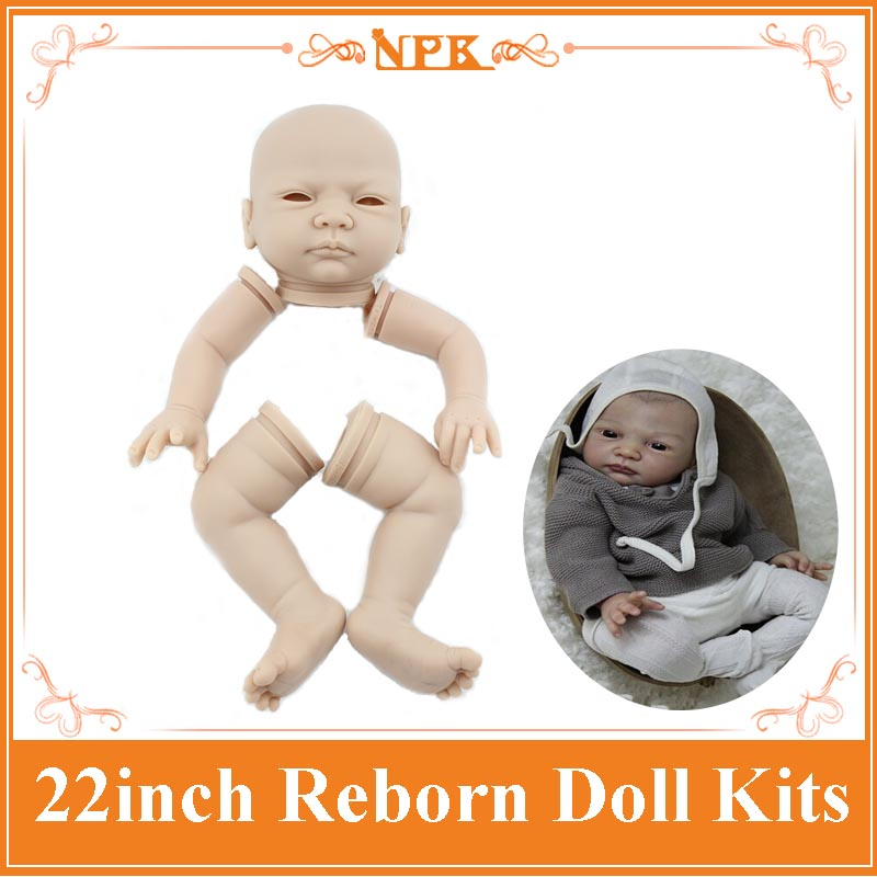 In Stock Reborn Baby Doll Kit Made By High Quality Silicone Vinyl Alive Reborn Doll Kit Doll Accessories For 22inch Reborn Doll<br>