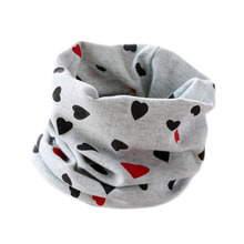 Baby scarf children's 100% cotton scarf autumn spring New style heart butterfly leaf pattern boys girls kids scarf-collars
