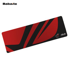 Genuine Original Babaite 900*300 XL Mouse pad For Asus Rog Republic of Gamers Gaming keyboard Mousepad Extended 2017 New arrival