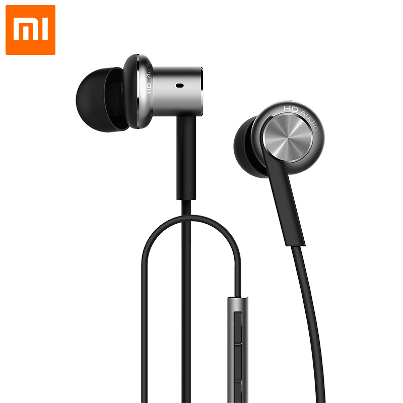 Original Xiaomi Hybrid Earphone with Mic Remote Headset for Xiaomi Redmi Red Mi Mobile Phone In-Ear Computer MP3 PC<br><br>Aliexpress