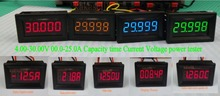 LED  battery Indicator Current Voltage meter Capacity time power tester 12v 24v Lead-acid lithium battery 5A