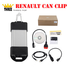 New Arrival V159 Multi-language Renault Can Clip Interface Professional Auto Diagnostic Tool Can Clip Scanner for Renault