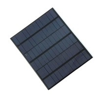 18V 3.5Watt Mini Solar Cell Solar Module Polycrystalline Solar Panel For 12V Battery Charger DIY Solar Charger Free Shipping(China)
