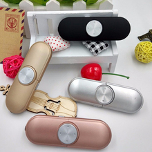 HESTIA Mini MP3 Walkman Music Player Hands-free Clip Player Multifunction Sport MP3 Music Running Strip Multifunction Cute MP3(China)