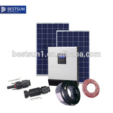 2000w solar home solar panel system NBPS-2000m BestSun solar supplier(China)