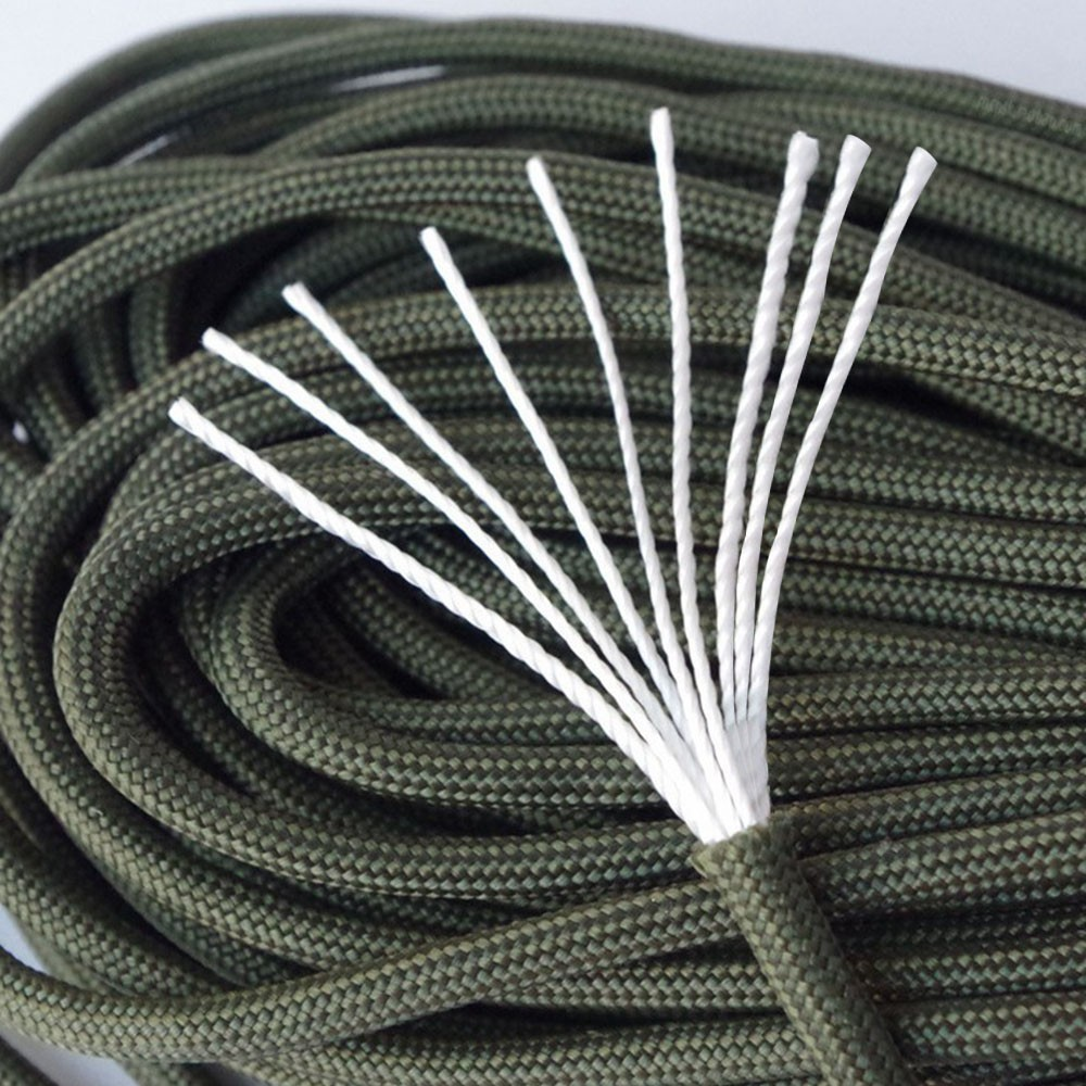 4mm Paracord Seil 100m aus Nylon reißfestes Allzweckseil Outdoor Camping