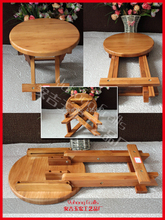 Environmental bamboo made small bench creative & fold small bamboo bench useful Chinese traditional craft