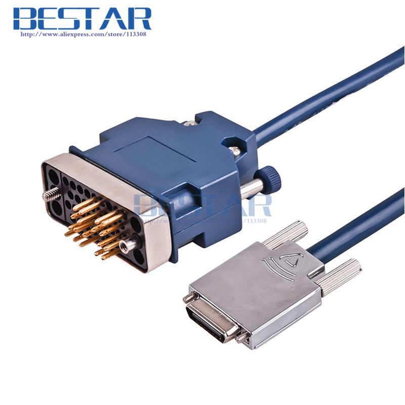 V35MT/V28M CAB-V35DTE (DB28) Cable For H3C SIC-2SA RT-FIC-4SAE-V2-H3 SIC-1SAE Cables 3m 10ft<br>