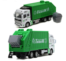 Tomica kids toys Transport vehicle green garbage scania truck toy car model engineering truck Christmas gift
