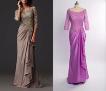 Real Photo Zuhair Murad Evening Dresses Mother of the Bride Groom Dresses Formal Arabic Evening Gowns with Long Sleeves