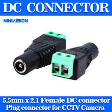 10Pcs lot Mini Coax CAT5 To Camera CCTV BNC UTP Video Balun Connector Adapter BNC Plug For CCTV System. Free Shipping !!