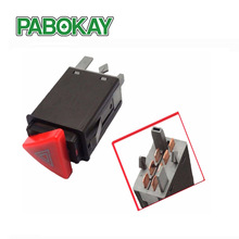 New Hazard Warning Indicator Light Switch Red Button Emergency Lamp Switch For SKODA OCTAVIA 1U0953235B(China)