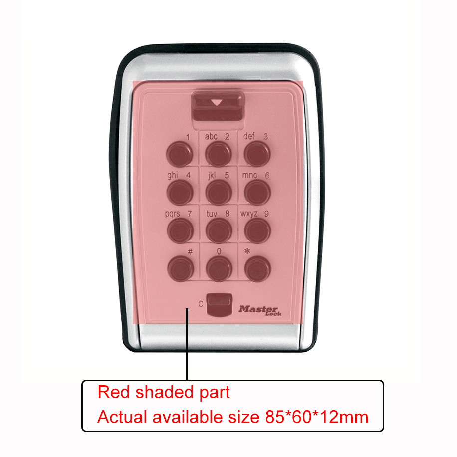 Key-Safe-Box-Wall-Mount-Password-Locker-Combination-Code-Keys-Card-Small-Items-Keepr-Storage-Box