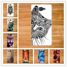 14 Patterns Cartoon Luxury Phone Case for Prestigio Grace Q5 PSP5506 DUO DIY Painted Colorful back cover for Prestigio Grace Q5(China)