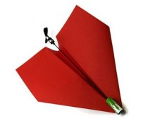 DIY Paper Airplane Power Up 3.0 DIY Electrical Power UP Model Plane