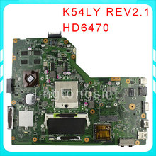 K54LY for ASUS motherboard X54H K54HR K84LY REV:2.1 HM65 mainboard 100% tested free shipping