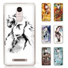 Majestic Mustang Horse art Hard Transparent Case Cover for Xiaomi Redmi Mi Note 2 3 3S 4 4C 4A 4S 5 5S Pro Plus