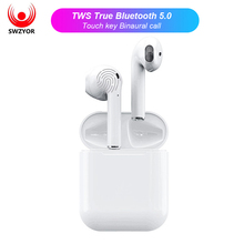 SWZYOR i12 TWS Mini Air pod Bluetooth 5,0 Kopfhörer Sport Sweatproof Wahre Wireless Touch Earbuds Ohr pod Binaural call Kopfhörer(China)
