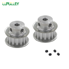 LUPULLEY XL 15T Teeth Timing Pulley Bore 4/5/6/6.35/7/8/10/12mm Stepper Motor Pulley Belt Width 10mm Gear Pulley Wheel(China)