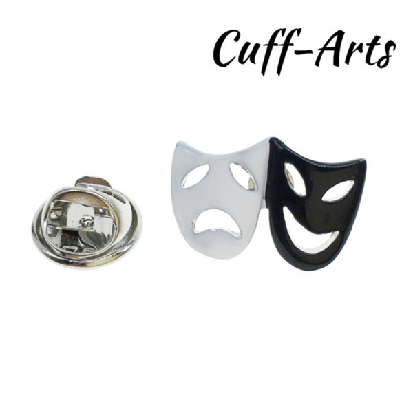 Cuffarts-Lapel-Pin-Black-White-Comedy-Tragedy-Theatre-Masks-Lapel-Pins-Brooch-Hijab-Pin-Enamel-Pin.jpg_640x640