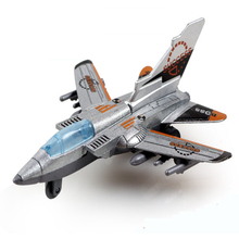 Toys Pull Back Alloy Fighter Jets Aviation Military Model Mini Airplane Gift Box Packaging Kids Child's Favorite Toy Gift