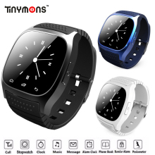 Bluetooth Wrist Smart Watch M26 Waterproof Smartwatch Answer Call Music Player Pedometer For Android Smart Phone Fitness Tracker