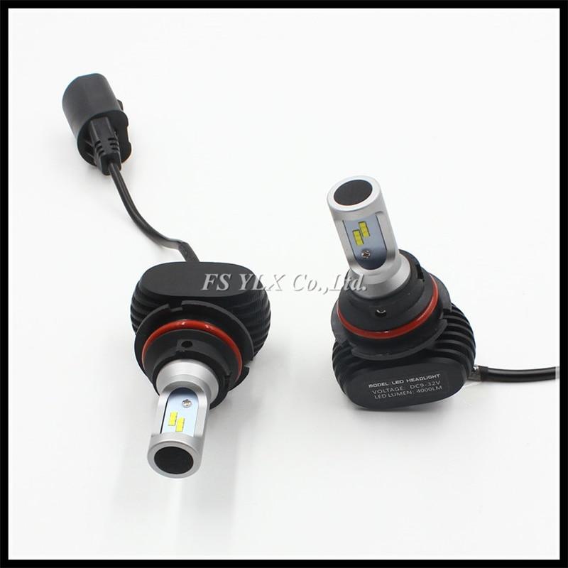 9007 LED Car Headlights Bulb Auto 9007 HB5 LED Front head light Bulb 50W 8000lm 9007 car LED Headlamp Daytime Running Light DRL<br><br>Aliexpress