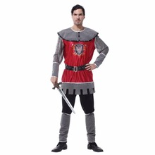 Shanghai Story Adult Party Cosplay Costumes King of Rome Halloween Costumes for Men Medieval Warrior Carnival Costumes