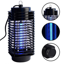 US EU Plug Electric Mosquito Moth Fly Bug Insect Zapper Killer Lamp Trap Lamp