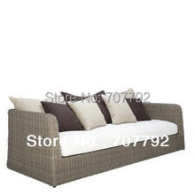 2017 New Design outdoor gray rattan wicker furniture
