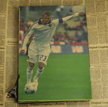 5 Sizes famous Football player David Beckham World Cup poster wall poster print home Paper Classic Free Kick England World Cup