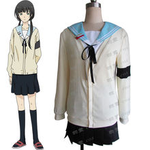 ReLIFE Hisiro Chizuru Kariu Rena Onoya An Sweater School Uniform Cosplay Costume