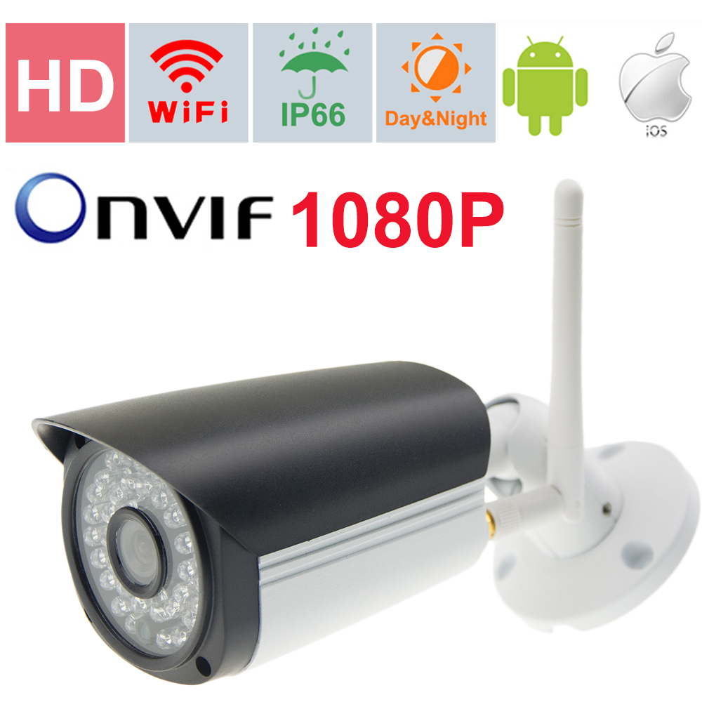 Mini IP Camera Wifi Outdoor Wireless 1080P Outdoor CCTV Camera  Remote Play From Android iOS PC Web IRNight Vision ONVIF P2P  <br><br>Aliexpress